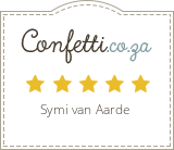 Confetti lists Symi as a preferred Officiant in Cape Town and Surrounds